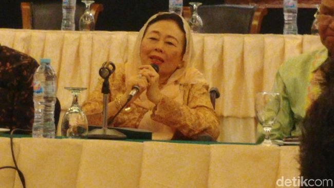 Sinta Nuriyah Wahid (Jefrie Nandy Satria/detikcom)